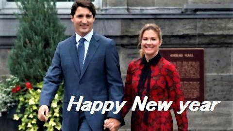 pict-カナダ・トルドー首相と妻ソフィー夫人.jpg