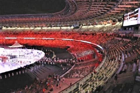 pict-コロナ禍の五輪開幕 競技場内でIOC関係者が拍手.jpg