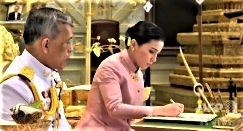 pict-タイ国王が4回目の結婚 新王妃.jpg