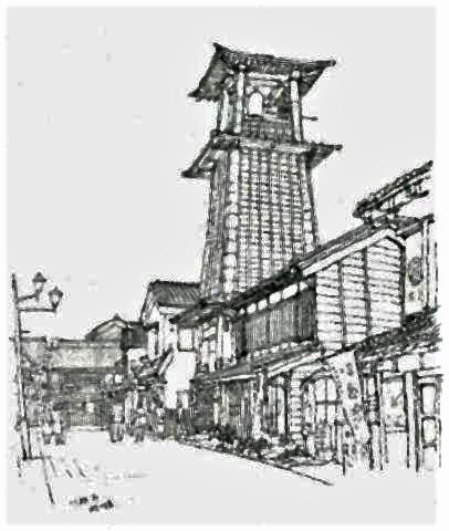 pict-川越市の「時の鐘」(画・安住孝史氏).jpg