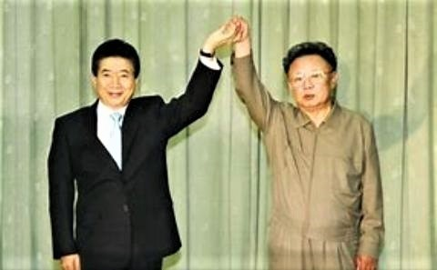 pict-廬武鉉大統領3万歳金正日.jpg