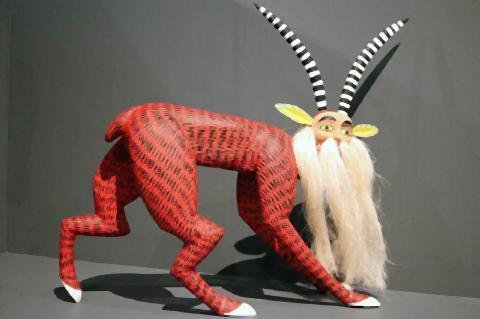 pict-木彫りの「ナワル」。メキシコ.jpg