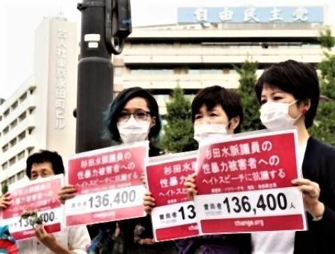 pict-杉田水脈衆院議員の「女性はいくらでもうそをつけますから」との発言に抗議.jpg