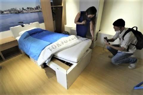 pict-東京オリンピック選手村のベッド2.jpg