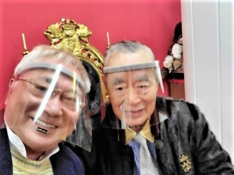 pict-高須院長、ドクター中松のコロナ.jpg