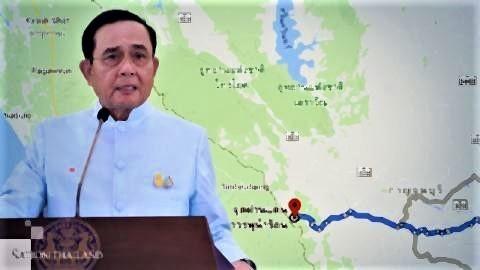 pict-Kanchanaburi borders with Myanmar closed.jpg