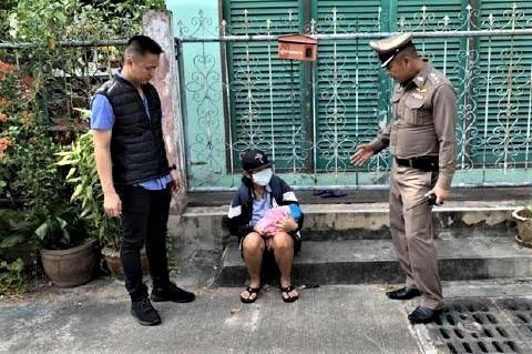pict-Lao woman arrested .jpg