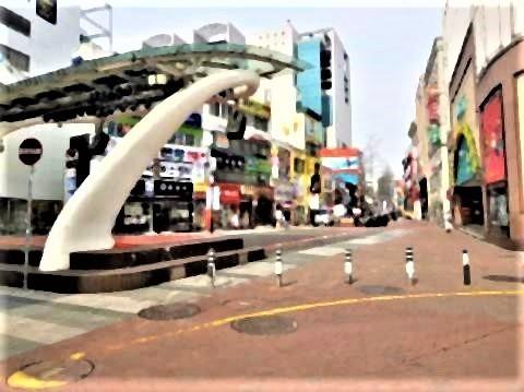 pict-pict-21日、人影がまばら大邱市内.jpg